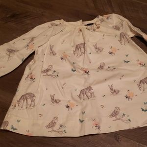 Baby Gap woodland dress 3-6 month